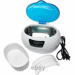 A1 600ml Sonic Wave Digital Ultrasonic Cleaner Jewelry Glasses Watch Cleaning
