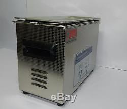 AG Precision' Digital Ultrasonic Cleaner with Heater & Timer 4.5 L Capacity