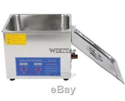 Brand New 19L Stainless Digital Ultrasonic Cleaner Machine A