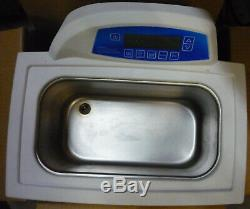 Branson CPX3800H 1.5 G Ultrasonic Cleaner with Digital Timer Heater Degas Temp