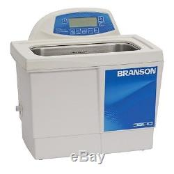 Branson CPX3800H 1.5 G Ultrasonic Cleaner with Digital Timer Heater Degas Temp Mon