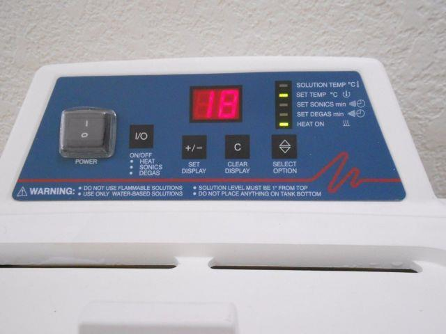 Bransonic Digital Ultrasonic Cleaner Water Bath 2510r-dth, Tested, Rarely Used
