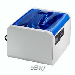 CE-6200A LCD Digital Ultrasonic Cleaner For Glasses jewelry Disk 1.4L lov
