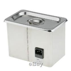 CE CERTIFICATED Jewelry Watch Digital Ultrasonic Cleaner Cleaning Machine