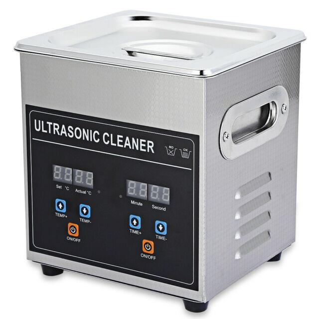 Cj 010s 2l Digital Ultrasonic Cleaner With Heater Timer