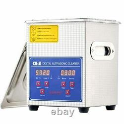 CO-Z 2L Ultrasonic Cleaner with Digital Timer and Heater, Professional 40kHz Ret