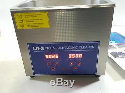 CO-Z 3L Professional Ultrasonic Cleaner w Digital Timer&Heater for Jewelry