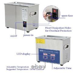 CO-Z 3L Professional Ultrasonic Cleaner with Digital Timer&Heater for Jewelry Gl