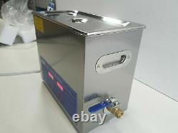 CO-Z 6L Professional Ultrasonic Cleaner with Digital Timer&Heater 110V