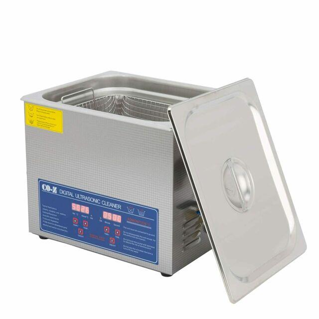 Co-z Professional 10l Ultrasonic Cleaner With Timer Digital For Cleaning Jewelry