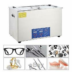 Co-Z 30L Digital Professional Large Ultrasonic Jewelry Cleaning Machine Cleaner