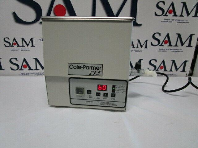Cole-parmer Ss Ultrasonic Cleaner, Heater/digital Timer, 1 Gallon, Mdl 08895-16