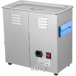 Commercial Ultrasonic Cleaner 10L Stainless Steel Digital Timer & Temperature