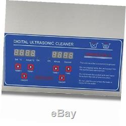 Commercial ultrasonic cleaner 3l heated ultrasonic cleaner with digital timer
