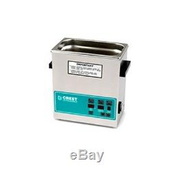 Crest CP1100D Ultrasonic Cleaner-Heat and Digital Timer-3.25 Gallon