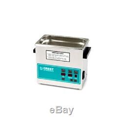 Crest CP230D Ultrasonic Cleaner-Heat and Digital Timer-3/4 Gallon Tank