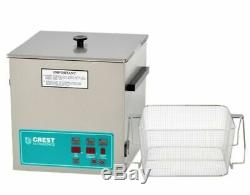 Crest POWERSONIC 3.25 Gal Digital Ultrasonic Cleaner WithBasket, P1100D-45