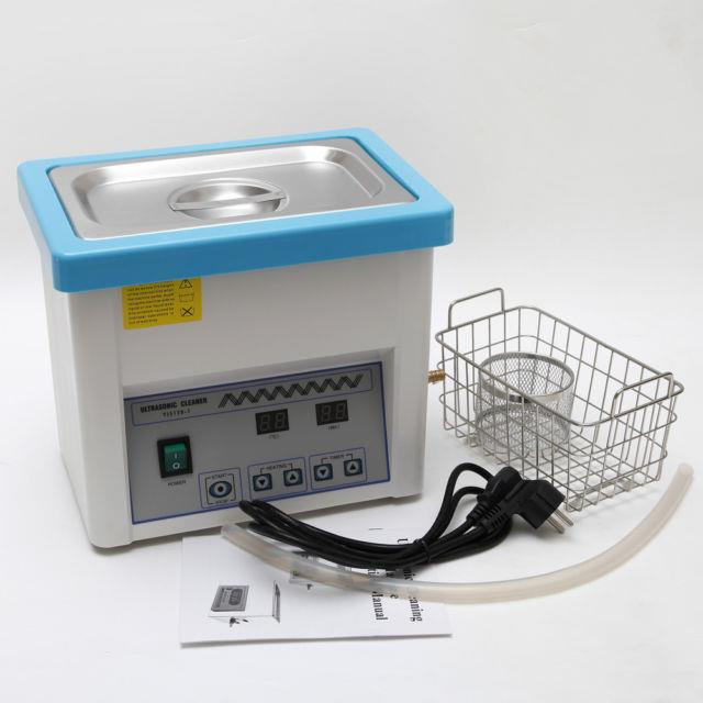 Dental Digital 5l Ultrasonic Cleaner Stainless Steel With Timer Industry Heat Uk