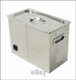 Digital 6.5L Dental Jewelry Stainless Ultrasonic Cleaner New Heater Timer yz