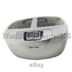 Digital Dental 2.5L Medical Ultrasonic Cleaner CD-4820 With Stainless Steel Tan