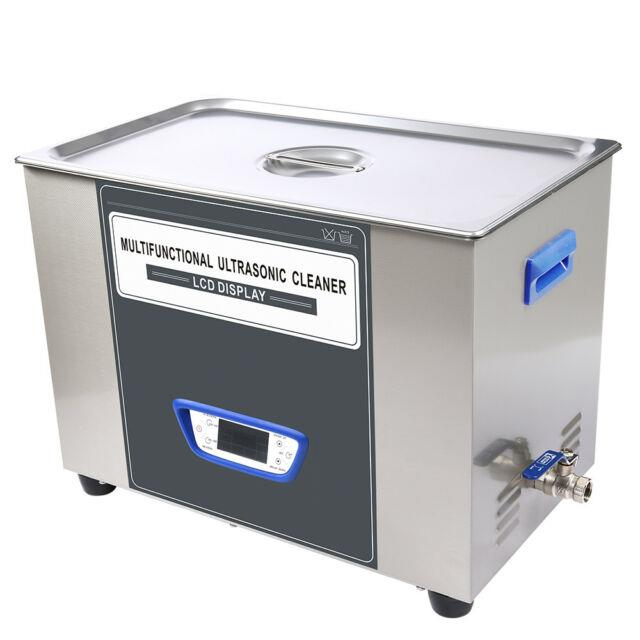 Digital Lcd 30 L Ultrasonic Cleaner Stainless Steel Cleaning Equipment Tuc-300 H