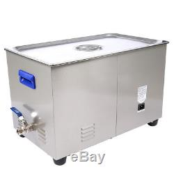 Digital LCD Ultrasonic Cleaner Cleaning Machine 480W with 22L Tank TUC-220 Wd