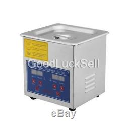 Digital Stainless Steel 15L Industry Heated Ultrasonic Cleaner Heater withTimer CA