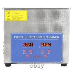 Digital Ultra Cleaner Bath Timer StainlessTank Cleaning Ultrasonic