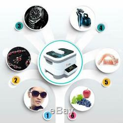 Digital Ultrasonic Cleaner 1.2Ltr For Glasses Jewelry Watches DHLexpress shiping