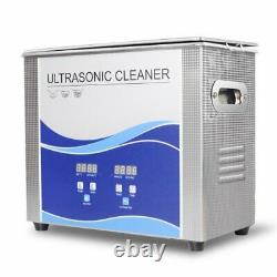 Digital Ultrasonic Cleaner 10L 180With300W with Heating Bath For Fuel Injector UPS