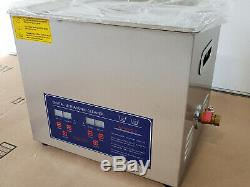 Digital Ultrasonic Cleaner, 40KHz Frequency, 240/300W, 100-120VAC, 60Hz PS-40A