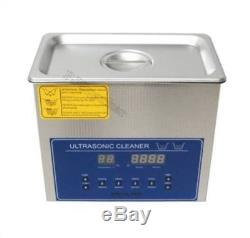 Digital Ultrasonic Cleaner 6L Frequency 28/40KHZ Cleaning Machine Dual Double