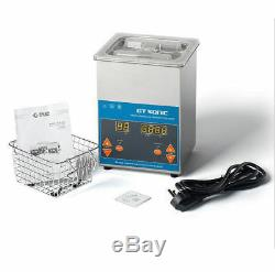 Digital Ultrasonic Cleaner For Electronic laboratory Components Jewelry Glasse