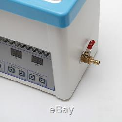 Digital Ultrasonic Cleaner Large Timer Dental Clinic Jewelry S7X8