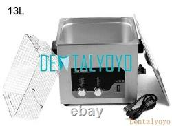 Digital Ultrasonic Cleaner Machine 2-27L 100-500W with Heating Function Heater