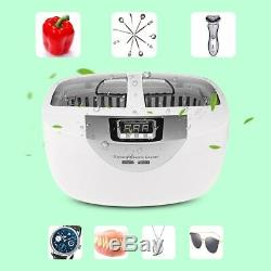 Digital Ultrasonic Cleaner Manicure Nail Tools Disinfection Box Sterilizer