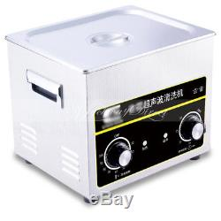 Digital Ultrasonic Jewellery Cleaning Spectacle Sunglasses Cleaner Machine 4.5L