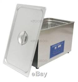 Dual Double Digital Ultrasonic Cleaner Frequency 28/40Khz 10L Cleaning Machine H