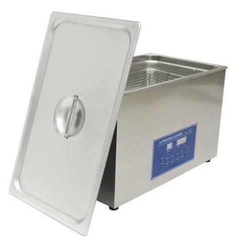 Dual Double Frequency 28/40 Khz Digital Ultrasonic Cleaner Cleaning Machine 15 L