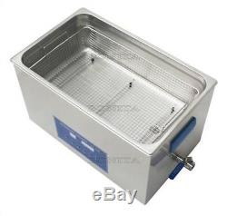 Dual Double Frequency 28/40Khz 10L Digital Ultrasonic Cleaner Cleaning Machine H