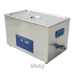 Dual Double Frequency 28/40khz Digital Ultrasonic Cleaner Cleaning Machine 10L