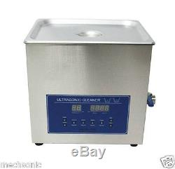 Dual Double Frequency 28/40khz Digital Ultrasonic Cleaner Cleaning Machine 15L s