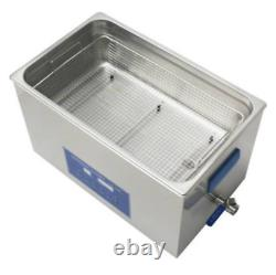 Dual Double Frequency 28/40khz Digital Ultrasonic Cleaner Cleaning Machine 22L