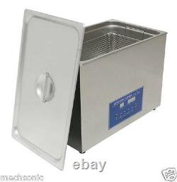 Dual Double Frequency 28/40khz Digital Ultrasonic Cleaner Cleaning Machine 22L s