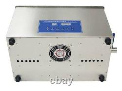 Dual Double Frequency 28/40khz Digital Ultrasonic Cleaner Cleaning Machine 22L t