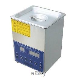 Dual Double Frequency 28/40khz Digital Ultrasonic Cleaner Cleaning Machine 2L t
