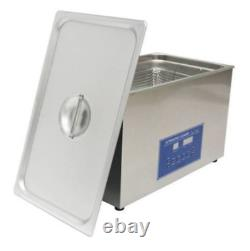 Dual Double Frequency 28/40khz Digital Ultrasonic Cleaner Cleaning Machine 30L