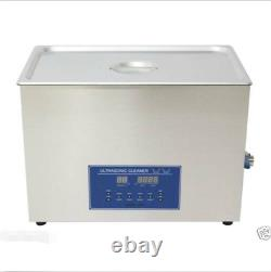 Dual Double Frequency 28/40khz Digital Ultrasonic Cleaner Cleaning Machine 30L M