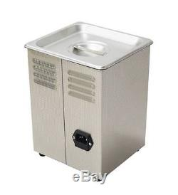 Dual Double Frequency 28/40khz Digital Ultrasonic Cleaner Cleaning Machine 3L e