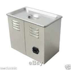 Dual Double Frequency 28/40khz Digital Ultrasonic Cleaner Cleaning Machine 3L s